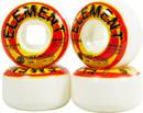 Element Shocked Street Skateboard Wheels 4-pack