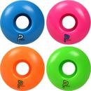 Enuff Refreshers Fluo Skateboard Wheels 4-Pack