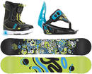 K2 Groms Mini Turbo Snowboard Paket Small