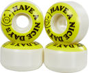 Pig Have A Nice Day Skateboard wheels 4-Pack
