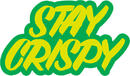 Shake Junt Stay Crispy Sticker