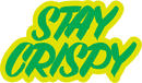 Shake Junt Stay Crispy Klistermärke