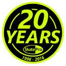 SkatePro 20 Års Jubilæums Klistremerke