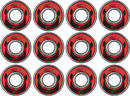 Wicked ABEC 7 Freespin Bearings 608 12-Pack