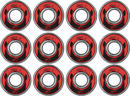Wicked ABEC 9 Freespin Kugellager 608 12-Pack