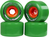 Abec11 FreeRides Longboard Hjul 4-Pack