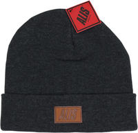 Alis Suede Patch Beanie