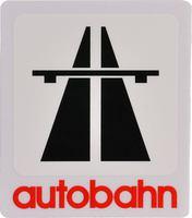 Autobahn Klistermærke