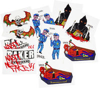 Baker Nasty Neckface 10-Pack Sticker