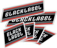 Negro Label Top Shelf Sticker Paquete