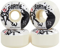 Bones Bartie Crows Skateboard Wheels 4-Pack