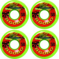 Bones Ngoho Fish Skateboard Wheels 4-Pack