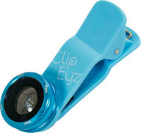 ClipEyz Fish Eye Lens Bleu