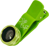 ClipEyz Fish Eye Lens Green