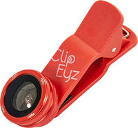 ClipEyz Fish Eye Lens Rood