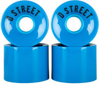 D-Street 59 Cent Cruiser Wheels 78A 4-pack