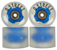 D-Street 59 Cent LED Cruiser Board Wiel 4-pack