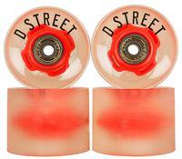 D-Street 59 Cent LED Hjul 4-pack