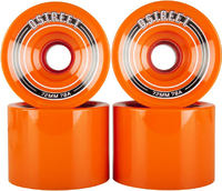 D-Street Fly Cruiser Board Wielen 4-pack