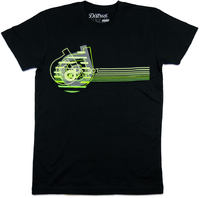 District Supply Co Neon T-skjorte