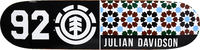 Element Julian Pattern Classic Skateboard Deck