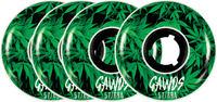 Roues Gawds Team Weed Pro (Pack de 4)