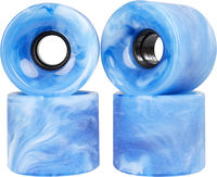Globe Bantam Swirl Cruiser Wheels 4-Pack