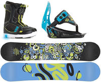 K2 Groms Mini Turbo Snowboard Package Groot