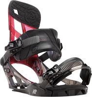 K2 Hurrithane Snowboard Fermetures Noir