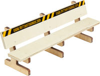 Mitt Fingerskateboards Long Wood Bench