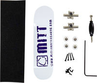 Mitt Logo Purple Fingerboard