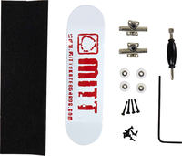 Mitt Logo Red Fingerboard Set