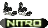 Nitro Junior Pro 2 Snowboard Package