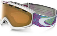 Oakley O2 XS Geo Chaos Neon Pink/Persimmon Skibriller