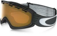 Oakley O2 XS Shaun Weiß Signature Schwarz/Persimmon Skibrille