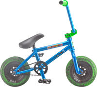 Rocker 3+ Crazymain Blue Mini BMX Cykel