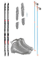 Rossignol Cross Country Classic - Anfänger Package
