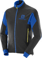 Salomon Momemtum Black/Blue 16/17 Mens Jacket