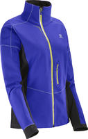 Salomon S-Lab XC Violet/Black Womens Jacket