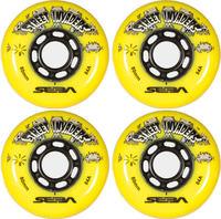 Pack de 4 Roues Seba Street Invaders 76mm