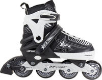 SFR Pulsar Adjustable Silver Kids inline skates