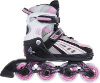 SFR Vortex Pink Adjustable Kids Inline Skates