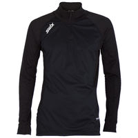 Swix RaceX Black Shirt Long Herren Half Zip
