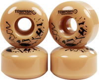 Tempish Beige Skateboard Hjul 4-pack