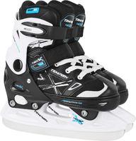 Tempish Neo-X Adjustable Black/Blue Kids Ice Skates