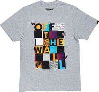 Vans Checker Blaster II Barn Grå T-Shirt