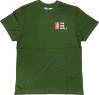 Vans Off The Wall Grön T-shirt