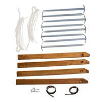 Webster & Maroon Earth Anchor-Set