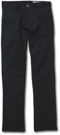 Volcom Frickin Chino Youth Bukser (Dark Navy)
